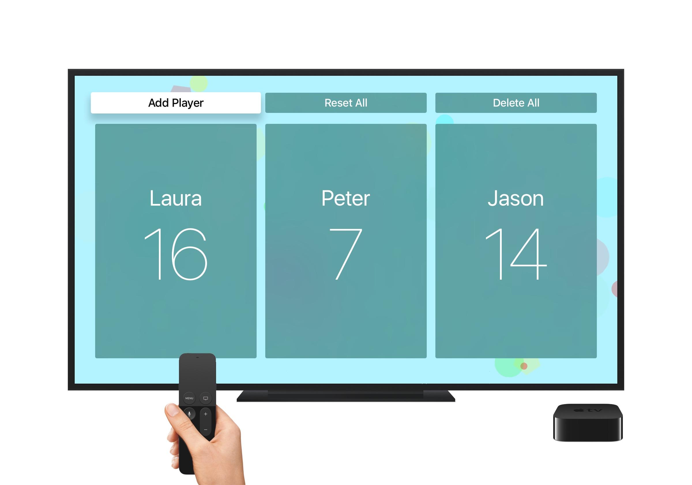 About Scoreboard – Scoreboard for Apple TV
